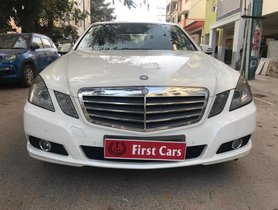 2010 Mercedes Benz E-Class E250 CDI Blue Efficiency AT 2009-2013 for sale in Bangalore