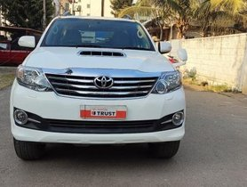 Toyota Fortuner 2015 Version 4x2 AT for sale in Bangalore