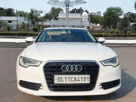 Used Audi A6 AT 2011-2015 car at low price in New Delhi
