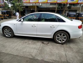 2012 Audi A4 Version New 2.0 TDI Multitronic AT for sale in Thane