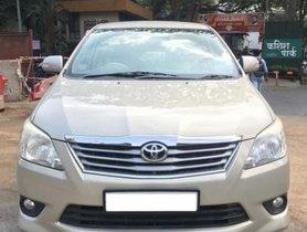 Toyota Innova 2.5 VX (Diesel) 7 Seater MT in Thane