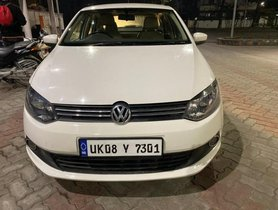 Used Volkswagen Vento Diesel Highline MT car at low price in Dehradun