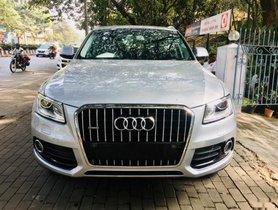 Used Audi Q5 AT car at low price in Pune