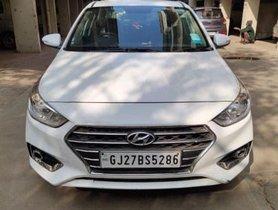 Hyundai Verna 1.6 EX VTVT MT 2018 in Ahmedabad