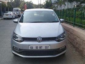 2016 Volkswagen Polo 1.2 MPI Comfortline  MT for sale in Bangalore
