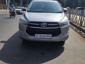 Used Toyota INNOVA CRYSTA 2.8 GX CRDi Automatic, 2017, Diesel AT for sale in Thane