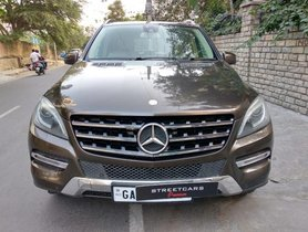 Mercedes Benz M Class ML 250 CDI AT 2013 in Bangalore