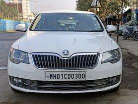 Used 2014 Skoda Superb Version Elegance 1.8 TSI MT for sale in Mumbai