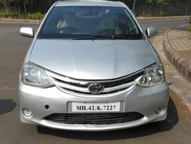 2012 Toyota Etios Version GD MT for sale at low price in Pune
