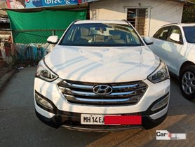 Hyundai Santa Fe 4x4 AT 2014 in Pune