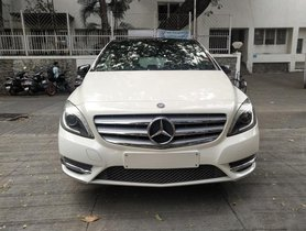 2014 Mercedes Benz B Class AT for sale at low price in Pune