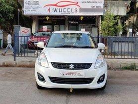 Used Maruti Suzuki Swift Dzire MT car at low price in Mumbai