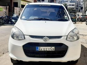 Used Maruti Suzuki Alto 800 LXI MT car at low price in Bangalore