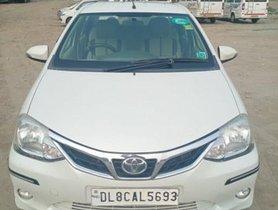 2016 Toyota Platinum Etios 1.5 VX MT for sale in New Delhi