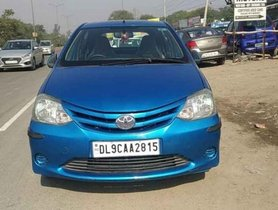 Used Toyota Etios Liva G MT car at low price in Faridabad