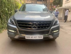 Mercedes Benz M Class ML 250 CDI AT 2015 in Mumbai