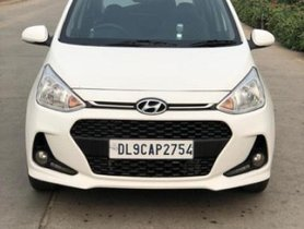 Used 2017 Hyundai Grand i10 1.2 Kappa Sportz Option AT for sale in New Delhi