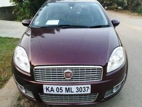 Used 2012 Fiat Linea Version 1.3 Emotion MT for sale in Bangalore
