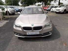 BMW 5 Series 520d Luxury Line, 2014, Diesel AT for sale in Ahmedabad