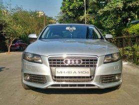 Used Audi A4 2.0 TDI Multitronic AT car at low price in Mumbai