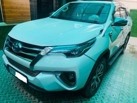 Used Toyota Fortuner 2.8 4WD AT 2017 for sale in New Delhi