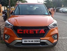 2019 Hyundai Creta Version 1.6 SX Option MT for sale at low price in Pune