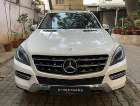 Mercedes Benz M Class ML 250 CDI AT 2014 in Bangalore