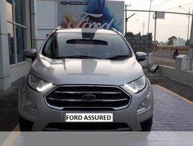 Used Ford EcoSport Version 1.5 TDCi Titanium Plus BE MT car at low price in Vellore
