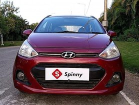Used 2015 Hyundai Grand i10 1.2 Kappa Asta MT for sale in Hyderabad