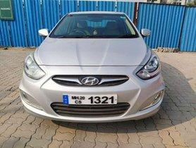 Hyundai Verna 1.4 EX 2013 MT for sale in Pune