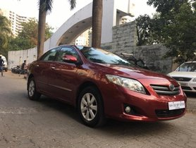 Toyota Corolla Altis 2008-2013 G MT for sale in Mumbai
