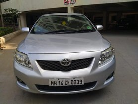 2010 Toyota Corolla Altis Version Diesel D4DG MT for sale in Pune