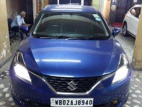 Used Maruti Suzuki Baleno Version Alpha MT car at low price in Kolkata