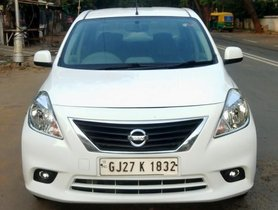 2012 Nissan Sunny Version Diesel XV MT 2011-2014 for sale at low price in Ahmedabad
