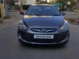 Hyundai Fluidic Verna 1.6 CRDi SX, 2013, Diesel MT for sale in Hyderabad