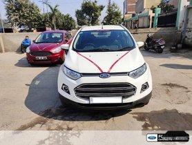 Used Ford EcoSport 1.5 Diesel Titanium MT car at low price in Noida