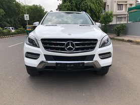 Used Mercedes Benz M Class Version ML 350 CDI AT car at low price in Ahmedabad