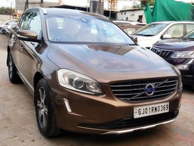 Used 2015 Volvo XC60 D4 SUMMUM AT for sale in Ahmedabad