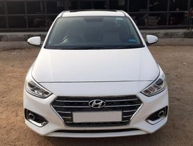 Hyundai Verna CRDi 1.6 SX Option MT 2018 for sale in Hyderabad