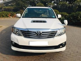 2014 Toyota Fortuner Version 2.8 2WD AT for sale at low price in New Delhi
