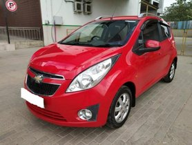 Used Chevrolet Beat LT Option MT car at low price in Bangalore