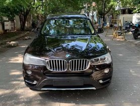 Used BMW X3 AT for sale in Chennai