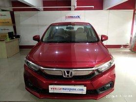 Honda Amaze V Petrol MT 2018 in Pune