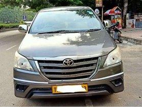 Toyota Innova 2.5 GX BS IV 8 STR, 2013, Diesel MT for sale in Chennai