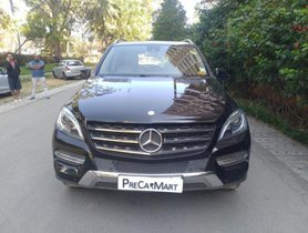 Used Mercedes Benz M Class Version ML 250 CDI AT car at low price in Bangalore