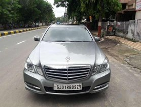 Mercedes-Benz E-Class E220 CDI Blue Efficiency, 2013, Diesel AT for sale in Ahmedabad