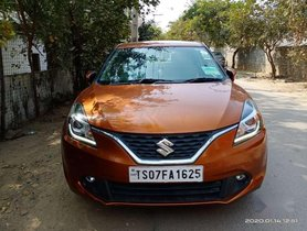 Maruti Suzuki Baleno Petrol 2016 MT for sale in Hyderabad