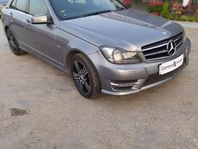 Used 2013 Mercedes Benz C-Class  C 220 CDI BE Avantgare AT for sale in Pune