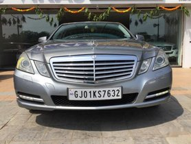 Used 2012 Mercedes Benz E-Class Elegance 220 CDI AT 2009-2013 for sale in Ahmedabad