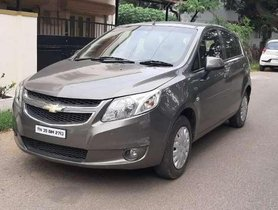 Used Chevrolet Sail U-VA 1.2 LS ABS, 2014, Petrol MT for sale in Coimbatore